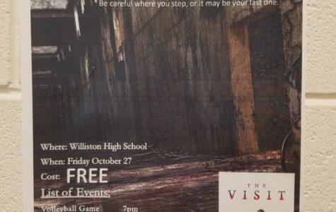 Free Friday Fright Night at WHS!