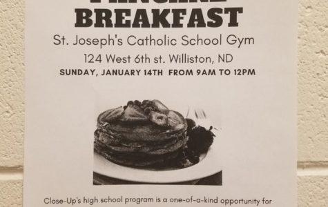 Pancakes! Close-Up Fundraiser Breakfast on Sunday!