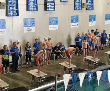 WHS Boys Swim Meet