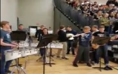 WHS Pep Band: National Anthem and WHS School Song