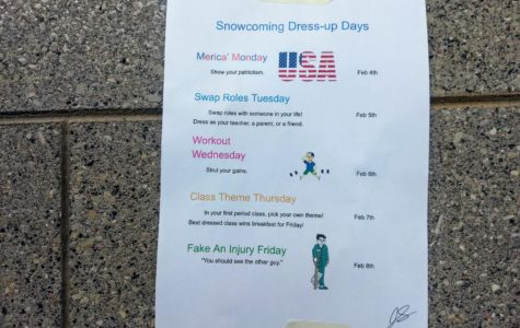 Snowcoming Dress Up Days