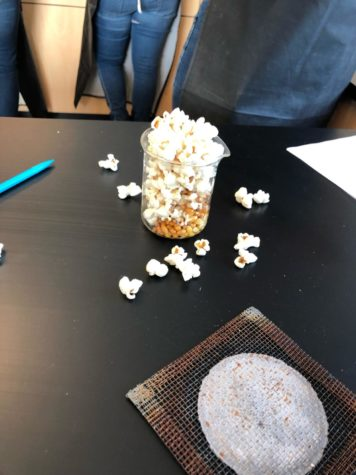 Popcorn In Chemistry The WHS Howl