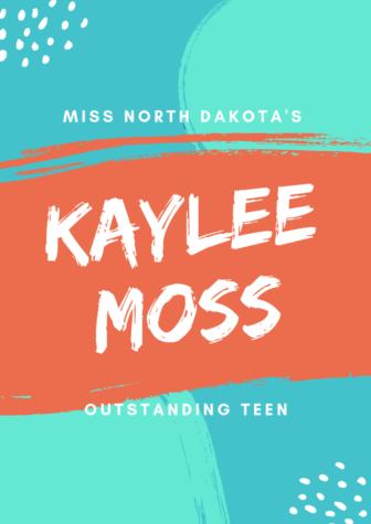 Kaylee Moss, Miss North Dakota Outstanding Teen