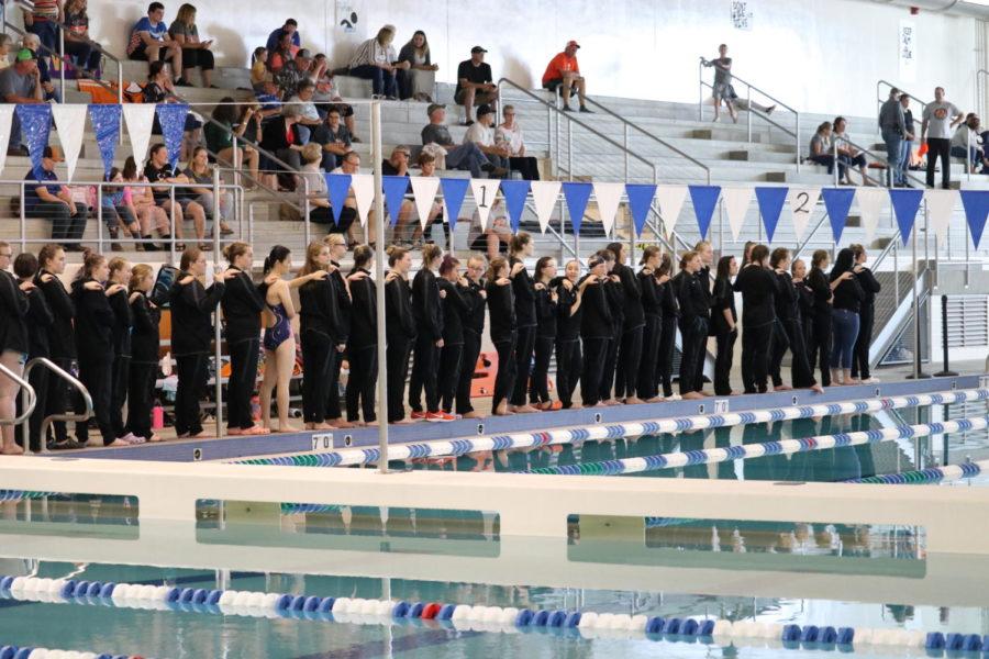 Coyote Girls Swim Team