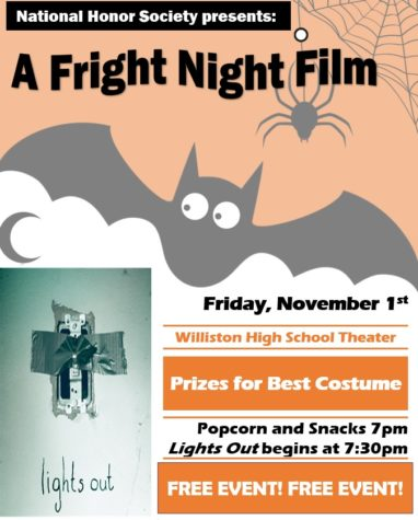 NHS Fright Night! Time Change!