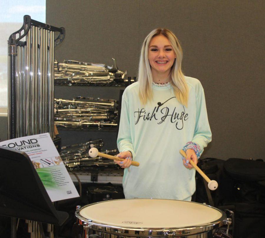 Percussionist~Savanna Raeluk