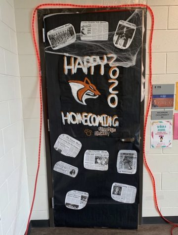 And the Homecoming Door Decorating Winner Is...