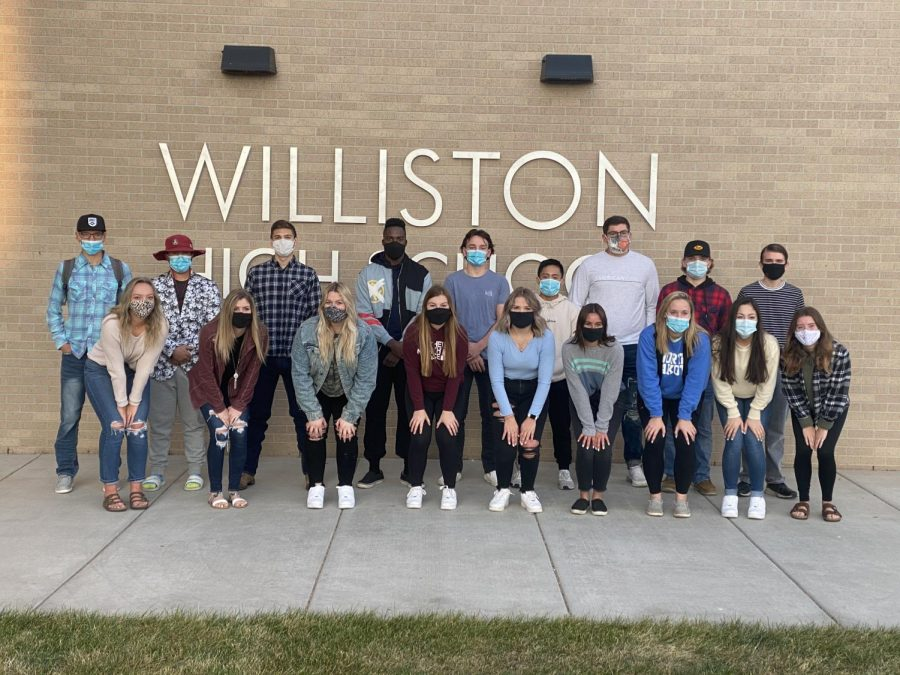 WHS top 10 candidates (not pictured: Liv Carmichael and Trey Jungels)