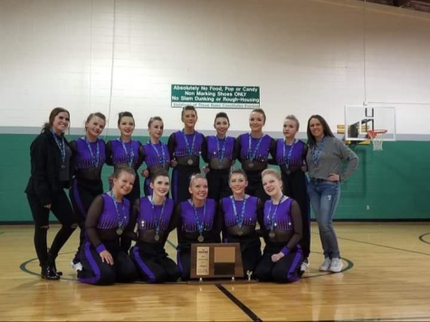 Williston Wonderettes Win Hip-Hop State Title 2nd Year in a Row