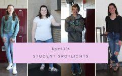 Navigation to Story: April's Student Spotlights
