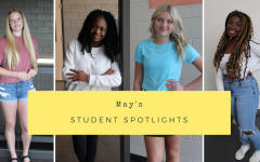 Navigation to Story: May's Student Spotlights