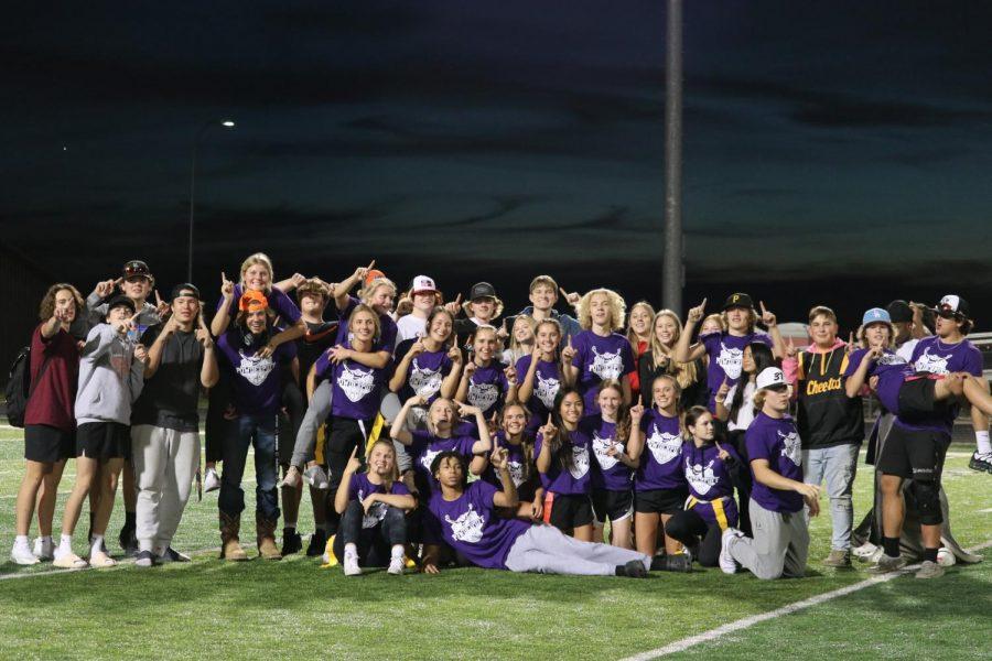 Sophomores win Powderpuff 2021!