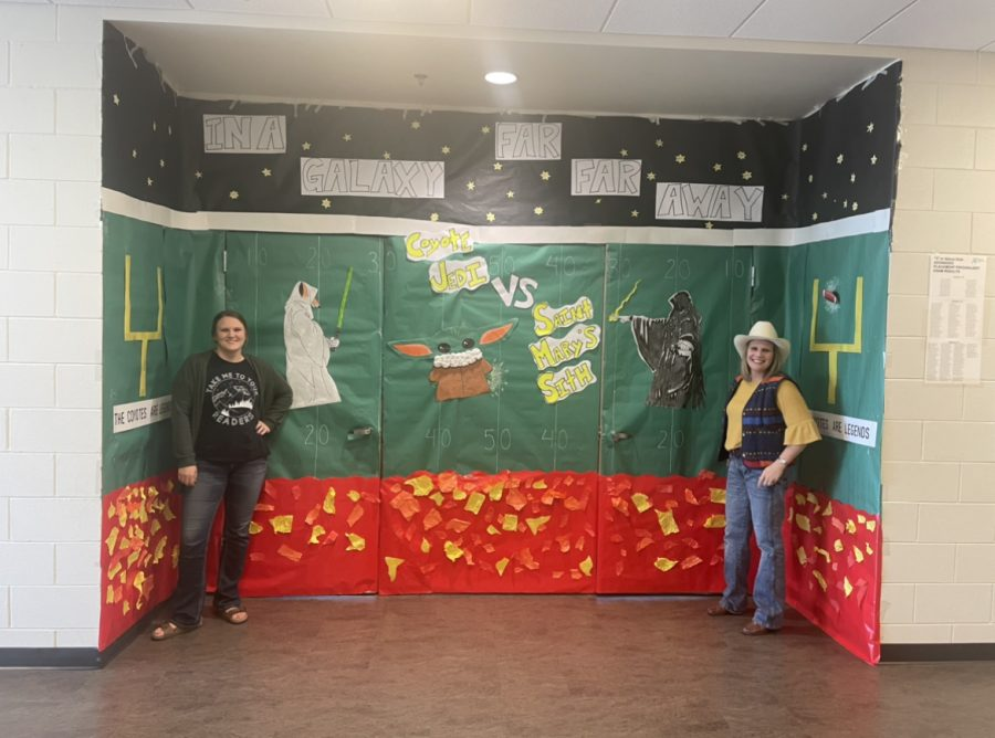 And the door decorating winners are...(drumroll)